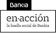 logotipo de bankia en Acción