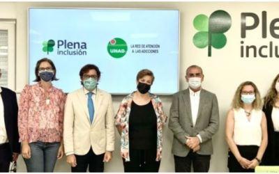 Plena Inclusión y UNAD colaboran para atender a las personas con discapacidad intelectual con problemas de adicciones